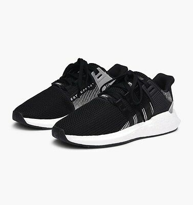 NEW adidas Originals Eqt Support 93/17 Knit Boost Shoes BY9509 Black White c1
