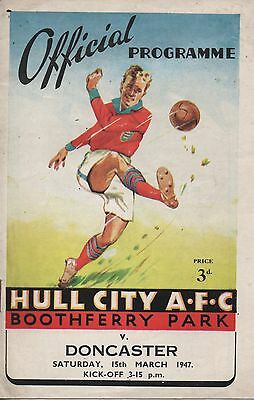46/47 Hull City v Doncaster Rovers
