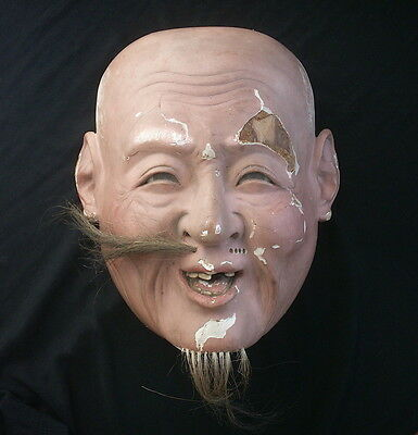 Antique Japanese Theater Mask