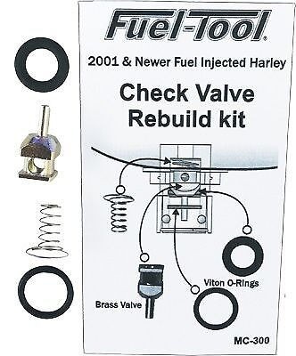 Fuel Tool EFI Check Valve Rebuild Kit FUEL TOOL  MC300