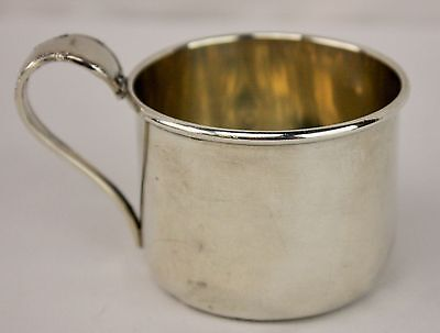 Lunt 551 Sterling Silver Vintage Baby Cup