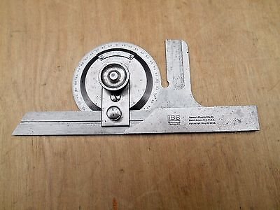 Brown & Sharpe No. 495 Bevel Protractor