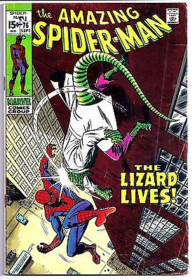The Amazing Spider-Man #76 (Sep 1969, Marvel)