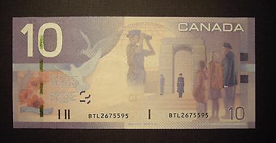 Canada BC-68aA 2007 $10 Replacement Note BTL2675595 - GemUnc