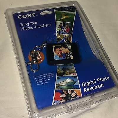 """Coby DP-151 1.5"""" Digital Picture Keychain"""