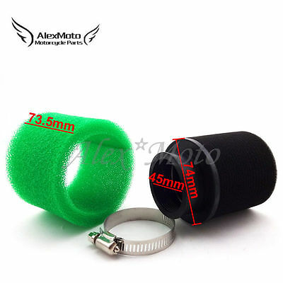 45mm Air Filter For 125cc 140cc 150cc ATV Quad Pit Dirt Bike Motorcycle Go Kart