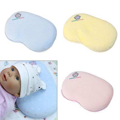 Cot Bed Pillow Nursery Junior Kids Baby Toddler Comfort Pillow Support Cushion