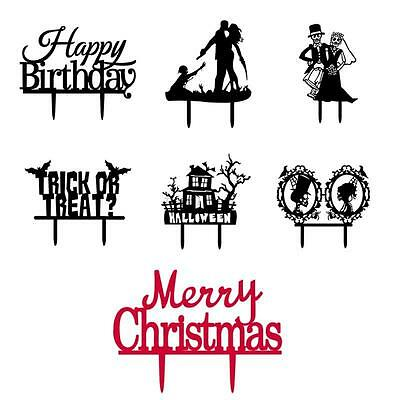 Cake Topper Birthday/ Wedding/ Halloween/Christmas Party Exquisite Decors