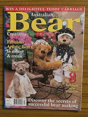 Australian Bear Creations - Volume 7 No.5 Teddies Quilt Folk Art Pram Panda 2002