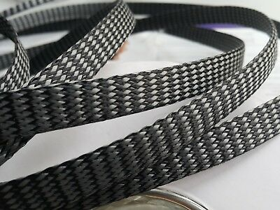Cable Sleeving High Density Braided 12mm Expandable Sleeve
