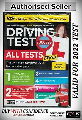 Driving Theory Test DVD - 2019 .MAC, PS3/4,XBOX One / 360 2019 ATDV