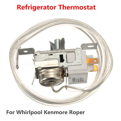 Refrigerator Cold Control Thermostat Kit For Whirlpool Kenmore Roper WP2198202