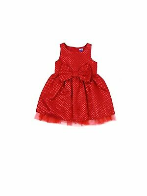 Girls Baby Red Sparkle Glitter Party Dress Christmas Special 9 Months - 6 Years