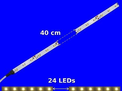 S348 10 Pcs LED Carriage lighting 400mm warm white analogue+digital with cable