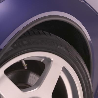 Satin BLACK Wheel Arch Arches Guard Protector Moulding fits SEAT