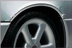 CHROME Wheel Arch Arches Guard Protector Moulding fits LAND ROVER