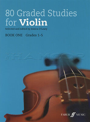 80 Graded Studies for Violin Book 1 Grades 1-5 Sheet Music Classical
