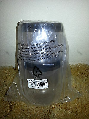 Tupperware - Table Collection - Tumblers set of 2 Black - 350ml -New glasses hi