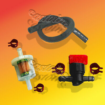 Cut Off Valve, Fuel Filter, Line Combo Fits Briggs and other MAKES and Models