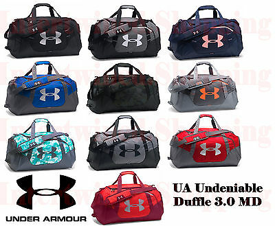Under Armour Undeniable 1300213 Duffle 3.0 MD UA Storm Heatgear Gym & Sports Bag