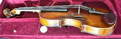 1776 Labeled Beautiful Antique Old Italian Violin in Excellent Play Condition