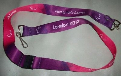 Rare London 2012 Paralympic Lanyard