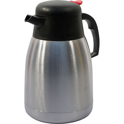New 1.5L Insulated Vacuum Jug Flask Tea Coffee Stainless Steel Travel Hot Cold