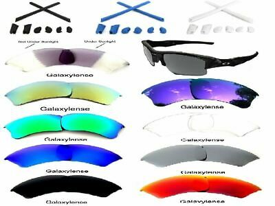 Galaxy Replacement Lenses For Oakley Half Jacket XLJ Sunglasses Multi-Color