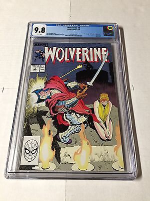 Wolverine 3 Cgc 9.8 White Pages 1988 Series