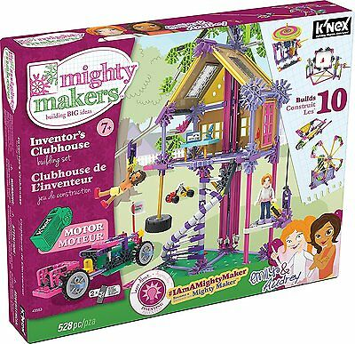 K'NEX Mighty Makers Inventors Clubhouse Building Set