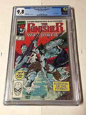 Punisher War Journal 7 Cgc 9.8 White Pages