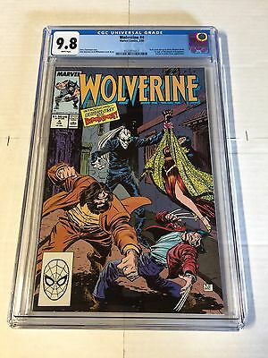Wolverine 4 Cgc 9.8 White Pages 1988 Series