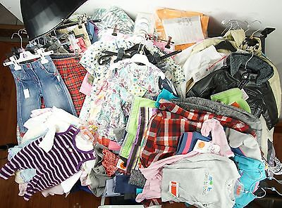 100 pc. Clearance Lot Children Brands Clothing Mix Kanz Mexx etc NEW