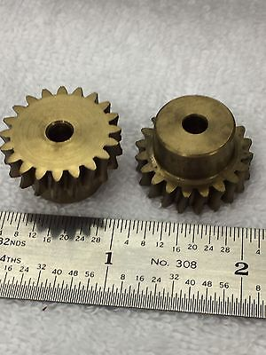 Boston Gear Brass D-1134 Worm Gear For Clock Telescope Model Railroad Etc. Look!
