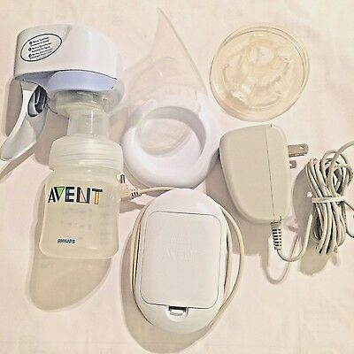 AVENT Electric Breast Pump Suction Single B P A FREE Portable,NEW  no PACKAGING