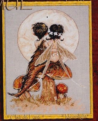 Clair de Lune - fantasy cross stitch chart - Nimue