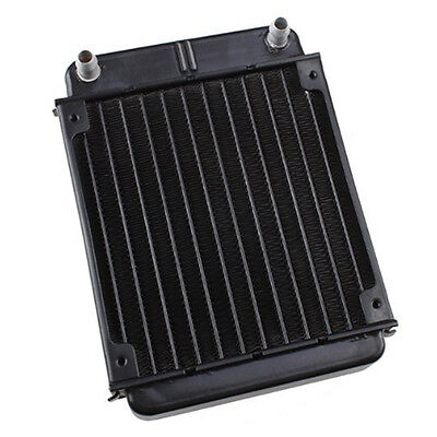 Aluminum Heat Exchanger Radiator For PC CPU CO2 Laser Water Cooling System