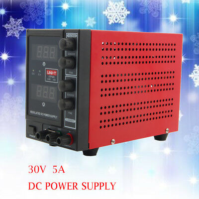 110/220V 5A DC Power Supply Adjustable Variable Lab Grade Precision Variable