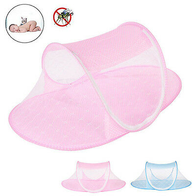 Portable Foldable Mosquito Tent Net Travel Infant Bed Crib For 0-3 Years Babys