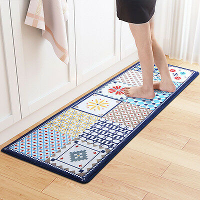 Kitchen Carpet Door Mat Rug Soft Anti-slip Floor Carpet Runner Bathroom Hotel