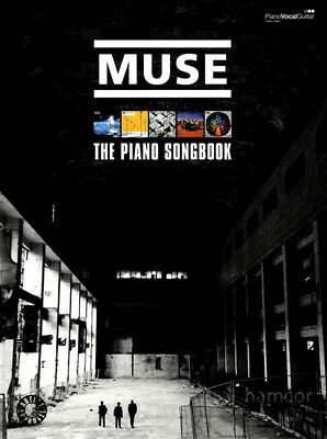 Muse The Piano Songbook Sheet Music Book 22 Song Transcriptions & Guitar Chords