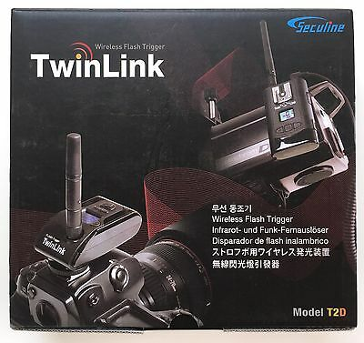 Seculine TwinLink T2D Wireless Flash Trigger