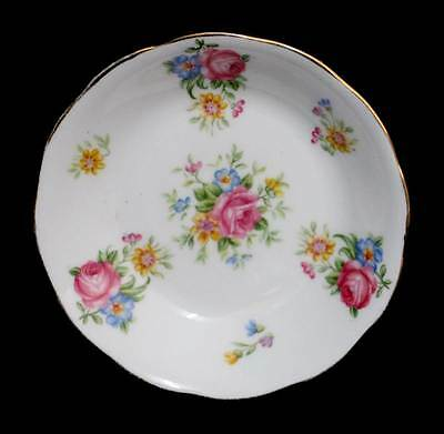 Vintage Royal Grafton pretty pink roses pin dish in lovely condition
