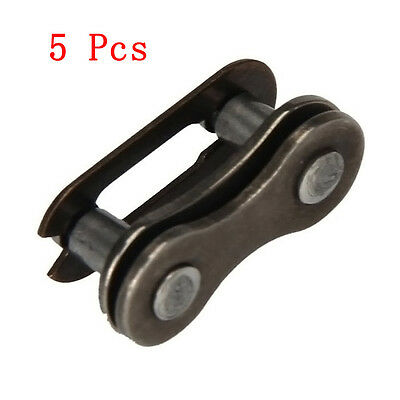 5Sets Of Bicycle Chain Master Link Articulated Chain Connector Fitting Universal