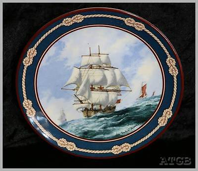Vintage 1988 Bradex Endeavour Great Sailing Ships of Discovery collectors plate