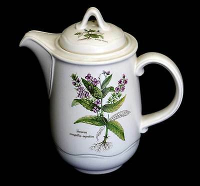 Vintage Poole Pottery English Country Lane coffee pot in beautiful condition