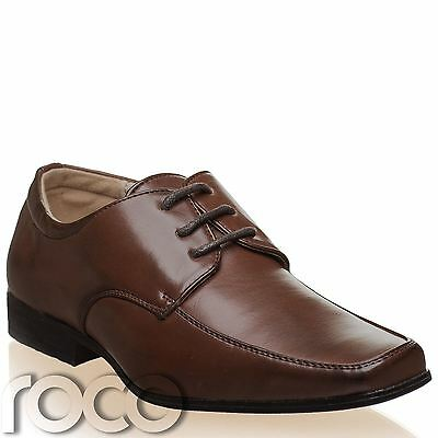 Boys Dark Brown Shoes, Boys Formal Shoes, Boys Wedding Shoes, Page Boy Shoe