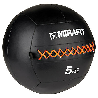 Mirafit Medicine/Wall Ball No Bounce Core Fitness Body Bootcamp/Strength Workout