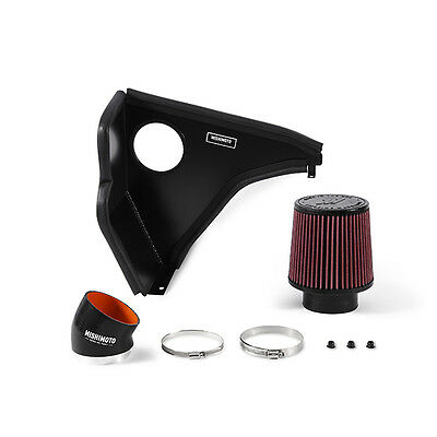 Mishimoto Cold Air Intake Air Filter Kit - fits BMW E46 330i - 2000-2006 - Black