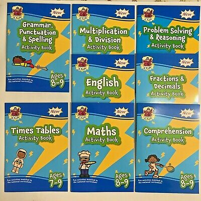 First Time Learning Maths & Writing Set of 2 Preschool Book Ages 3-5 Years New